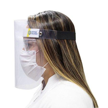 Protetor facial visor cristal face shield -  ortho pauher - ref.: ac150