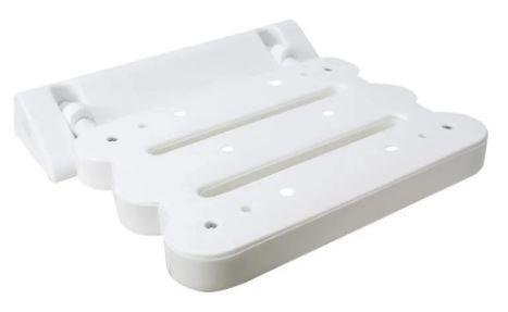 Assento articulado para banho fixado em parede - ortho pauher – ref.: ac3003