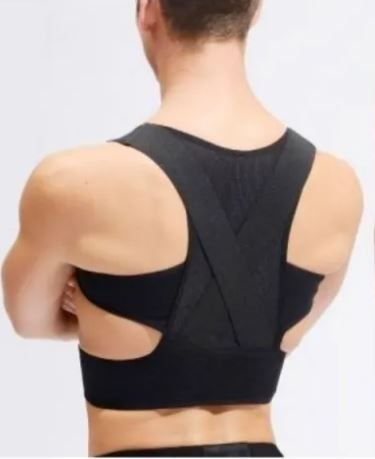 Colete Postural Ortopédico Ombro e coluna Faixa Confort Tipo X