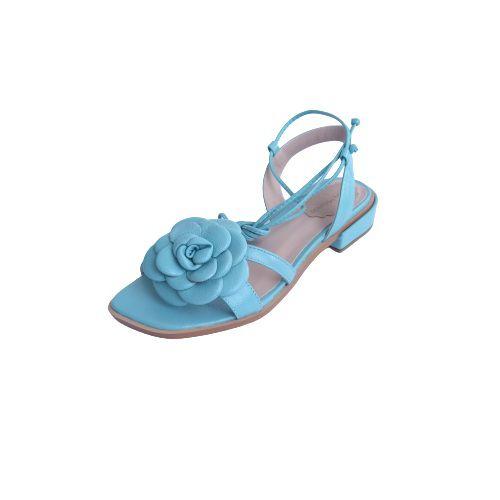Sandália Camélia Azul
