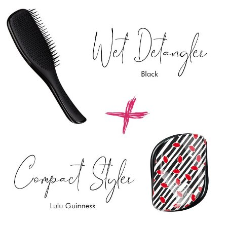 Kit Wet Detangler Black + Lulu Guinness