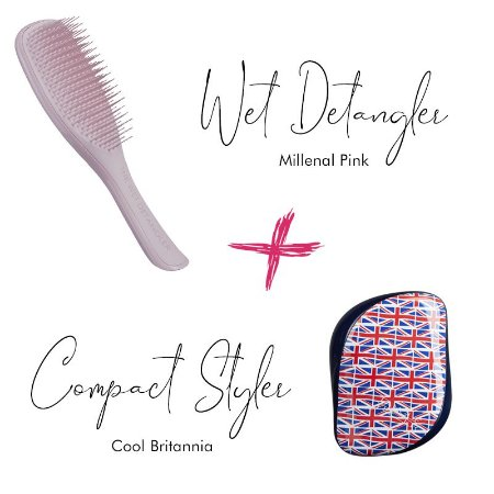 Kit Wet Detangler Pink + Cool Britannia