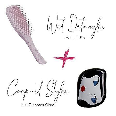 Kit Wet Detangler Pink + Lulu Guinness Clara