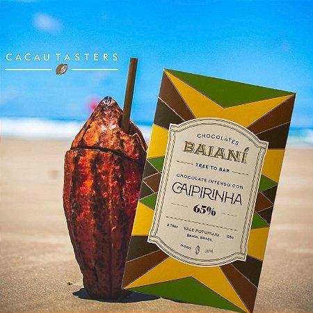 Barra de Chocolate 65% Cacau com Caipirinha - Baianí