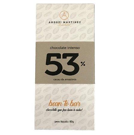 Barra de Chocolate 53% Cacau - Andrei Martinez