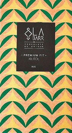 Barra de Chocolate 70% Cacau com Xilitol Premium Fit - LaBarr Chocolate de Origem