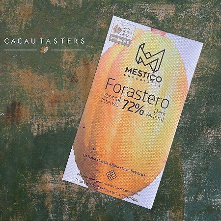 Barra de Chocolate 72% Cacau Forastero - Mestiço
