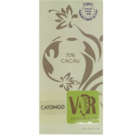 Barra de Chocolate - VAR - 70% Cacau Catongo