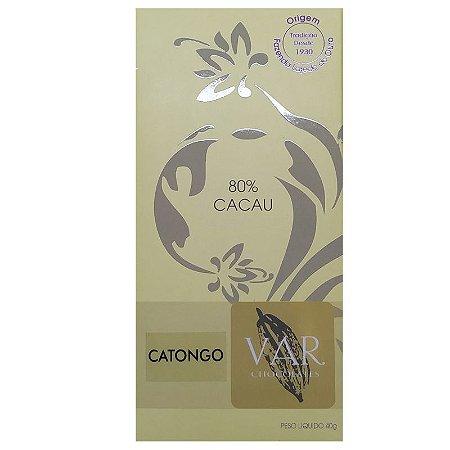 Barra de Chocolate - VAR - 80% Cacau Catongo