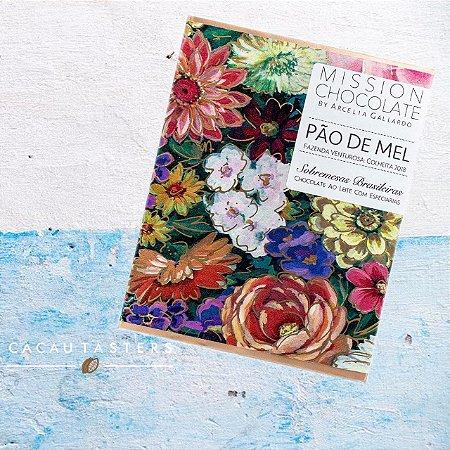 Barra de Chocolate ao leite Pão de Mel – MISSION CHOCOLATES by Arcelia Gallardo