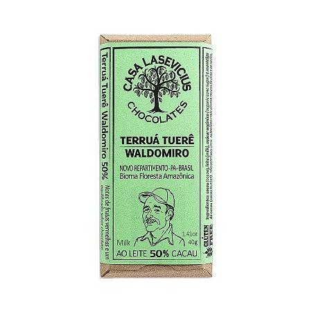 Barra de Chocolate Ao Leite 50% Cacau - Casa Lasevicius Chocolates