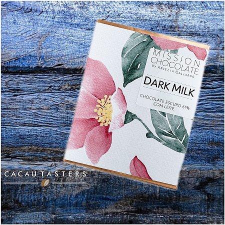 Barra de CHOCOLATE ESCURO DARK MILK    – MISSION CHOCOLATES by Arcelia Gallardo