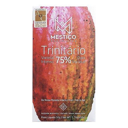 Barra de Chocolate 75% Cacau Trinitário - Mestiço