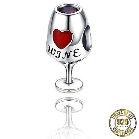 Berloque Taça de Vinho I
