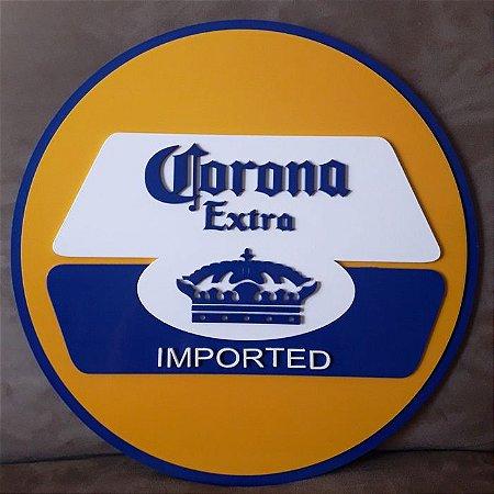 Quadro Decorativo Cerveja Corona Extra