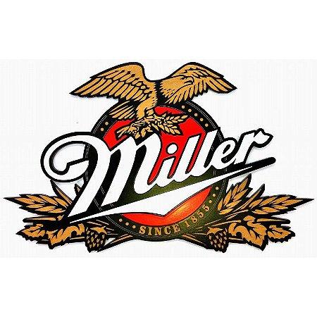 Placa Decorativa Personalizada Cerveja Miller