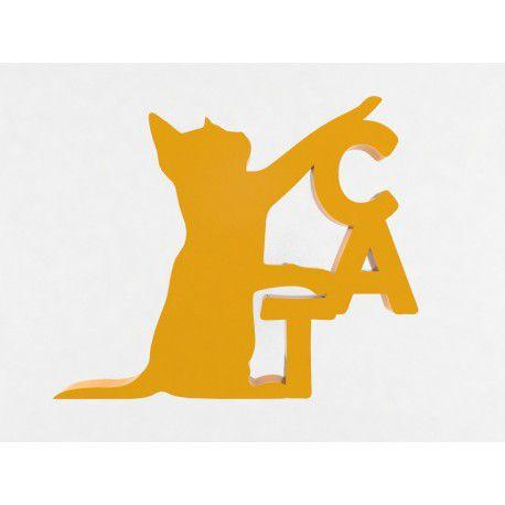 Adorno Decorativo Animal Gato