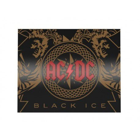 Quadro Decorativo Personalizado Banda AC/CD Black Ice