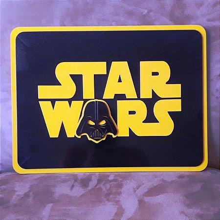 Quadro Decorativo Personalizado Star Wars