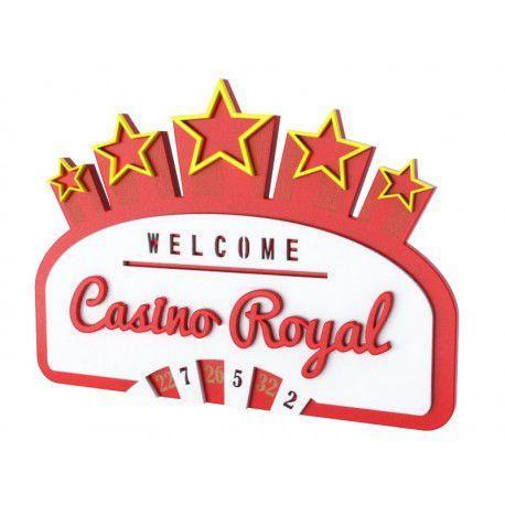 Quadro Decorativo Personalizado Casino Royal