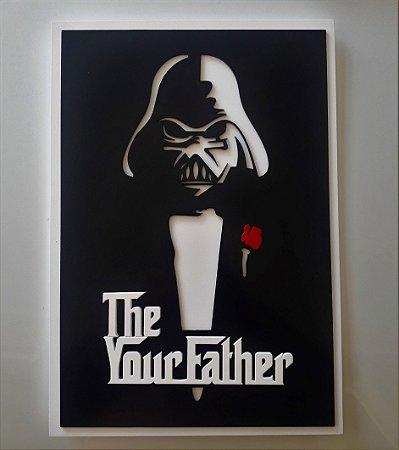 Placa Decorativa Personalizada The Your Father