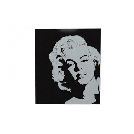 Quadro Laqueado Relevo Marilyn Monroe