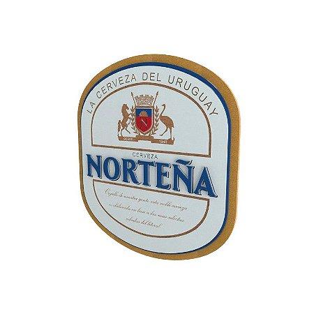 Placa Decorativa Cerveja Nortena Pintura Laca Mdf