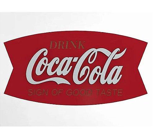 Placa Decorativa Personalizada Coca-Cola