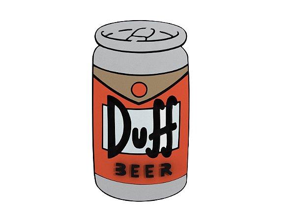 Quadro Decorativo Cerveja Duff Beer Lata