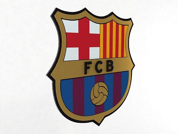 Placa Barcelona Laqueada 3D
