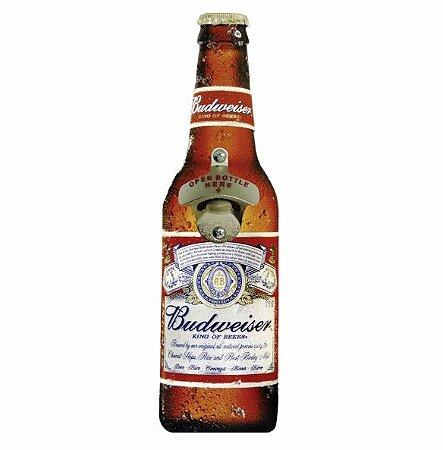 Abridor de Garrafas Cerveja Budweiser