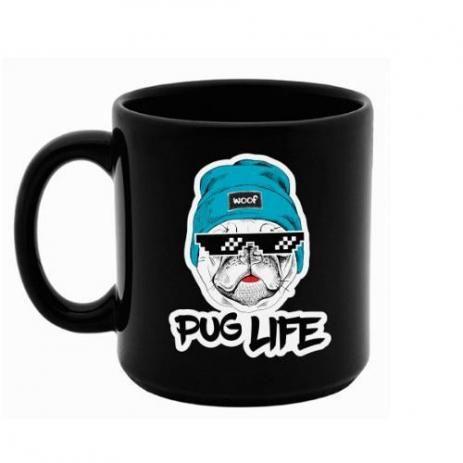 CANECA PUG LIFE 270ml