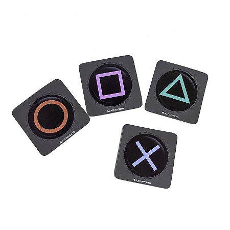 Kit Porta Copos Playstation
