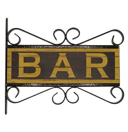 Placa Aramado Bar