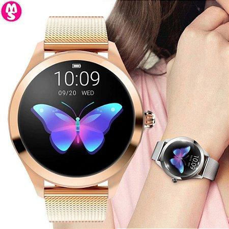 Smartwatch Feminino Prova D'Água