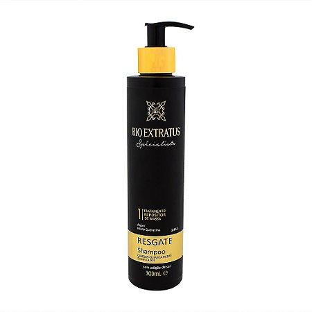 Shampoo Specialiste Bio Extratus  Repositor de massa Passo 1