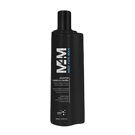 Shampoo Cabelo e Barba Med for Man