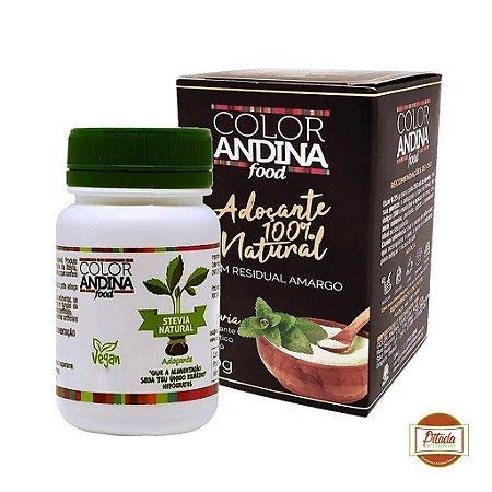 Adoçante Dietético Stévia Color Andina Food 20g