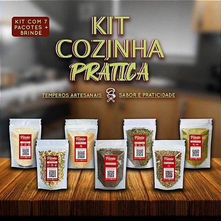Kit Tempero Cozinha Prática + Brinde