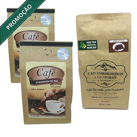 Promoção 40% OFF Forquilha do Rio e Cordilheiras Chocolate