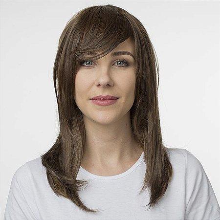 Aplique de cabelo Franja Hairdo Avelã