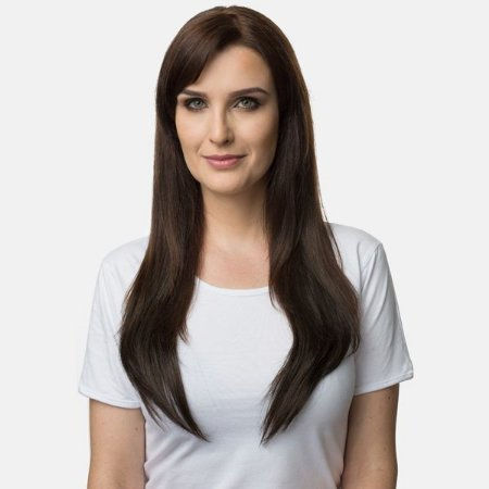 Aplique Liso Longo Hairdo 63cm Chocolate