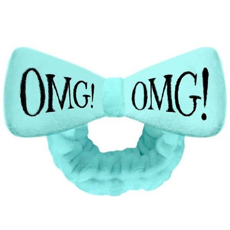 Bandana faixa para cabelos OMG! Double Dare Cor Azul Céu