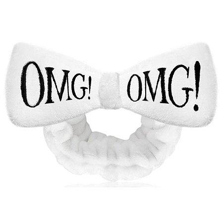 Bandana faixa para cabelos OMG! Double Dare Cor Branca