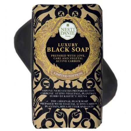 Sabonete em Barra Luxury Black Soap 250gr Nesti Dante