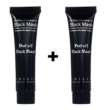 Kit Máscara Removedora de Cravos Black Mask Shills 15ml 2 un