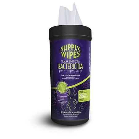 Toalha Umed Bactericida Superfíc Supply Wipes 35un