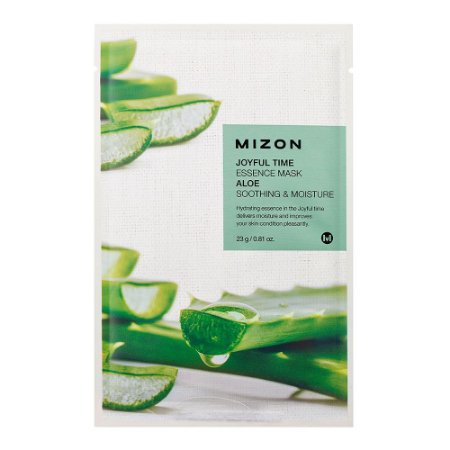 Máscara Facial Joyful T Essence Regeneradora Aloe Mizon 23g
