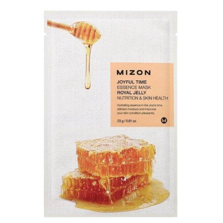 Máscara Facial Essence Mask Nutrição Royal Jelly Mizon 23g