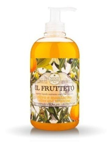 Sabonete Líquido Il Frutteto OlivoMandarin Nesti Dante 500ml